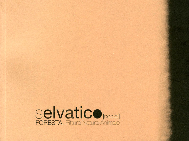 "Catalogo ""Selvatico 12 FORESTA. Pittura Natura Animale"""