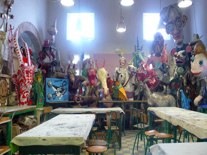 Una scuola di quasi arte per bambini