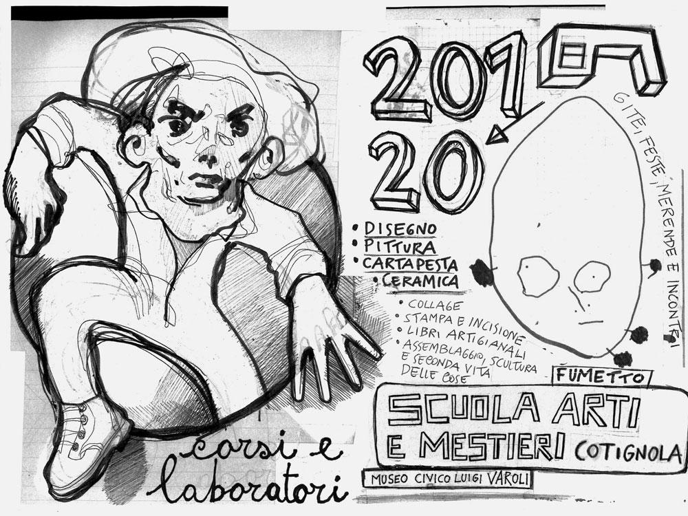 Corsi pomeridiani della Scuola Arti e Mestieri di Cotignola 2019/2020