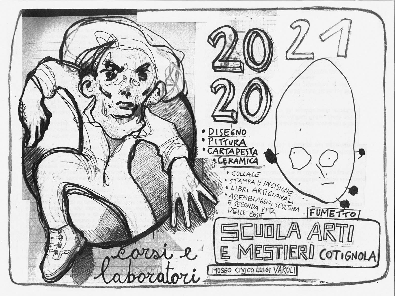 Corsi pomeridiani della Scuola Arti e Mestieri di Cotignola 2020-2021
